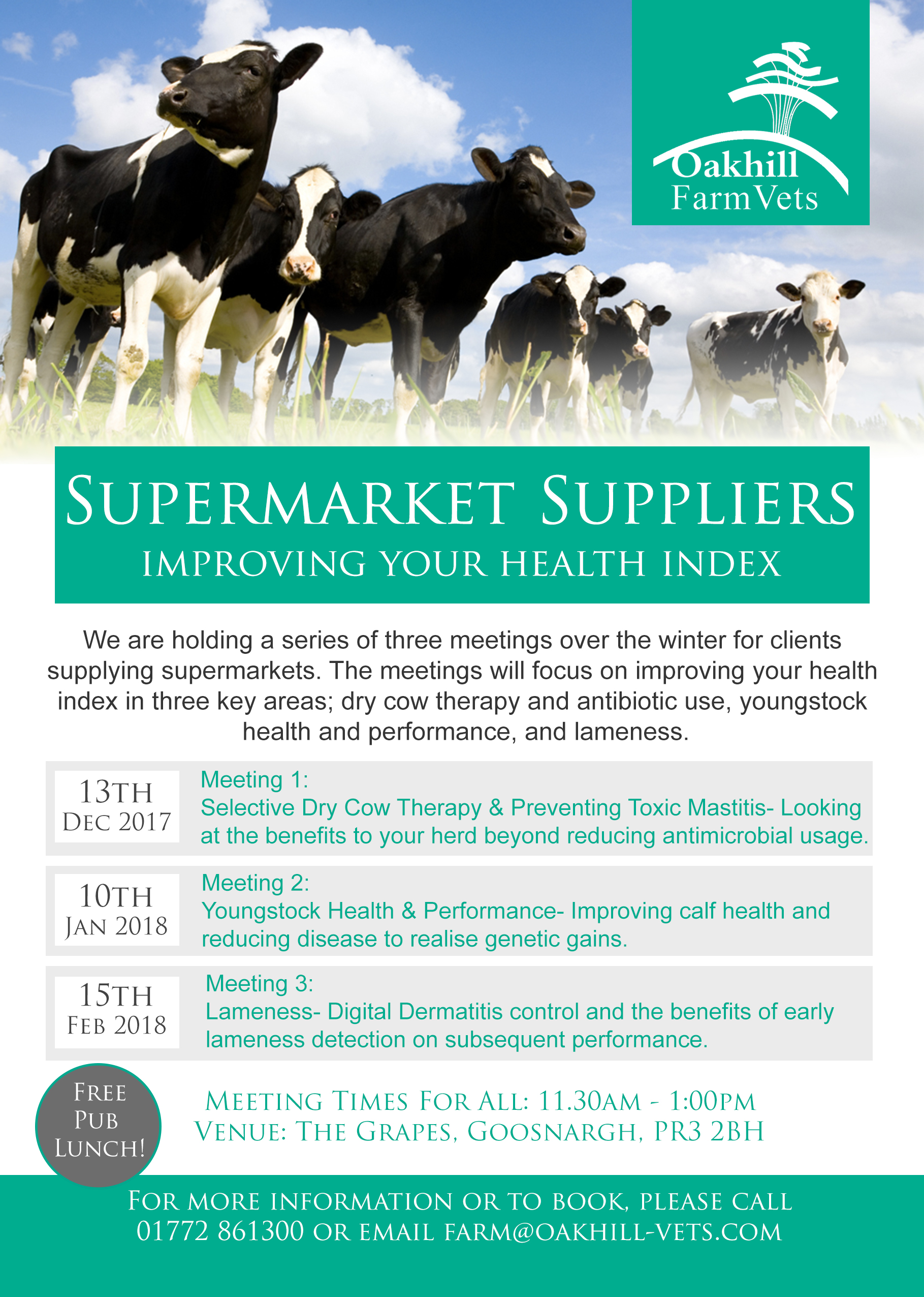 Supermarket Suppliers (Meeting 2) Youngstock Health & Performance