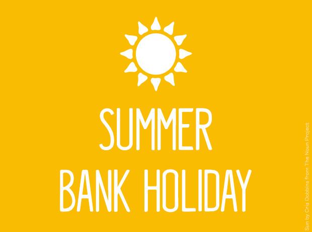 summer hank holiday times
