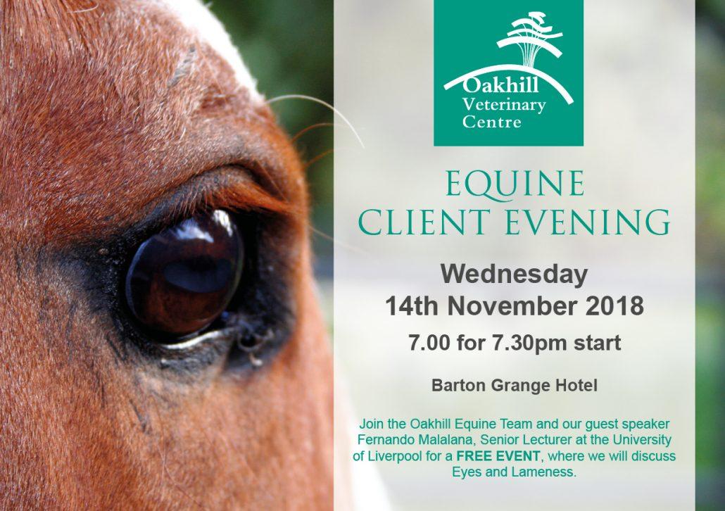Equine Client Evening