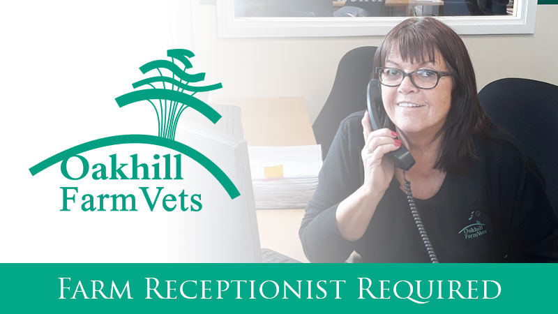 Farm Receptionist Required