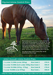 Equine Worm Control Plan